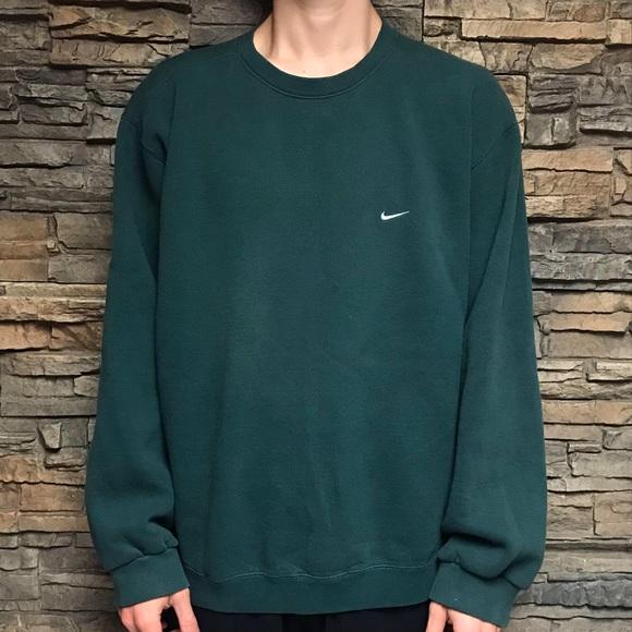 Xl Crewneck Sweatshirt Shirts Swoosh Vtg Poshmark Nike Mens wq6aYTttx